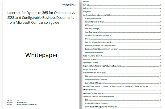 Whitepaper: Configurable Business Documents