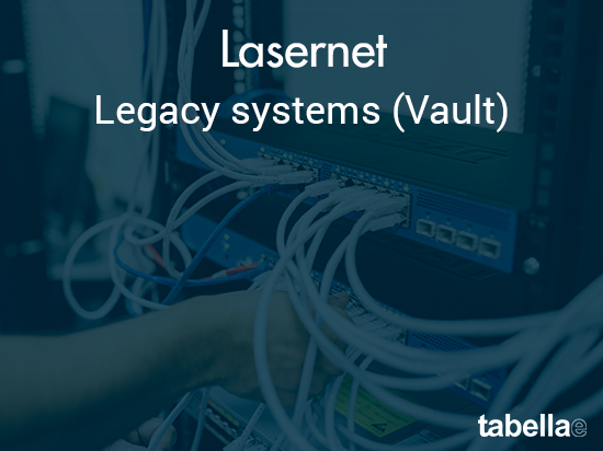 Legacy systems (Vault)