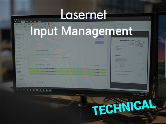 Lasernet Input Management: TECHNICAL
