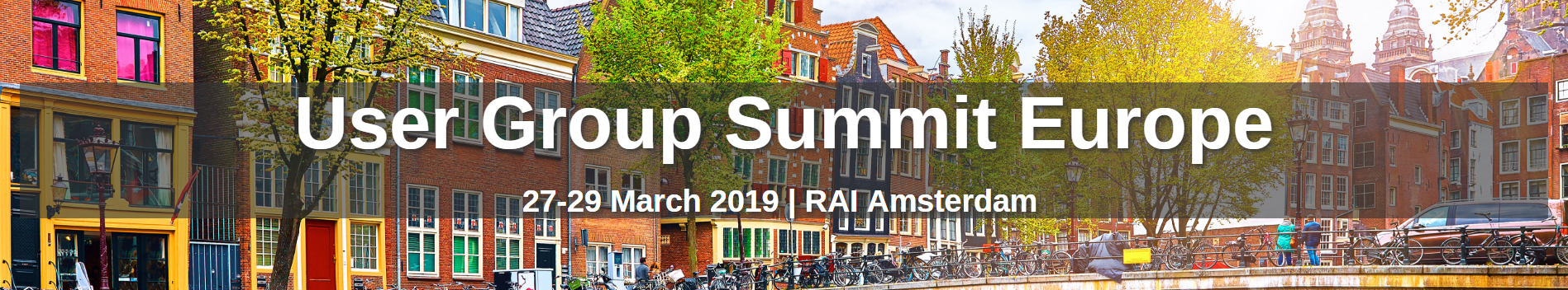user group summit europe